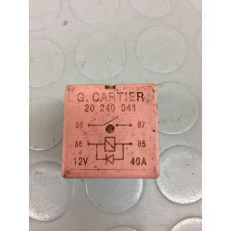RENAULT CLIO (2001-2005) 1.5 DIESEL 60KW 5P RELE RELAY 20240041