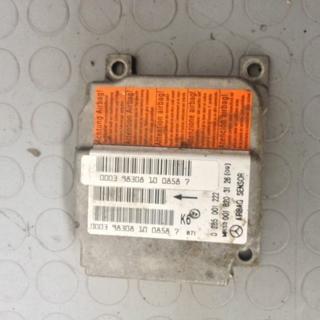 MERCEDES CLASSE A170 (1997 - 2001) W168 66KW 5P CENTRALINA AIRBAG 0285001222