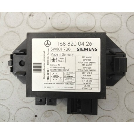 MERCEDES CLASSE A170 (1997 - 2001) W168 88KW 5P CENTRALINA IMMOBILIZER 1688200426