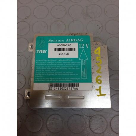FIAT PUNTO (2002) 1.9 DIESEL 44KW 5P CENTRALINA AIRBAG 46806592